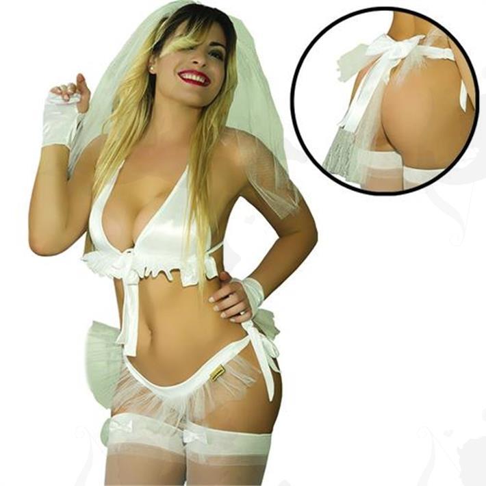 Disfraz novia Hot