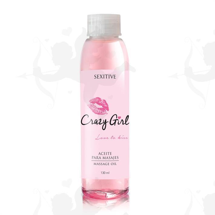 Aceite para masajes Crazy Girl 130ml