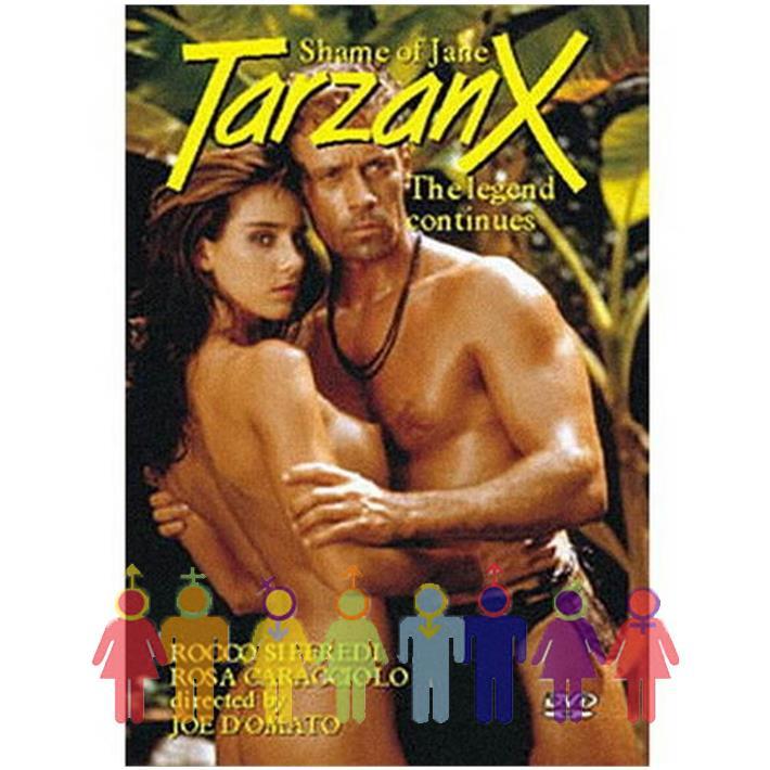 DVD XXX Tarzan Parodia Xxx
