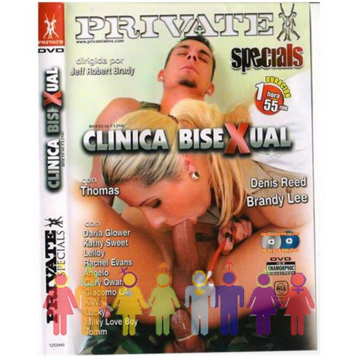 DVD XXX Clinica Bisexual