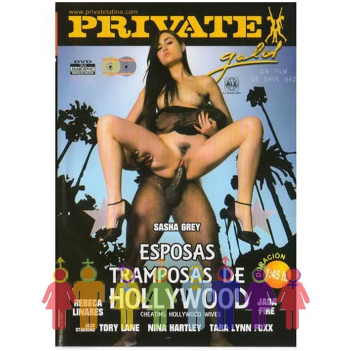 DVD XXX Esposas Tramposas De Hollywood
