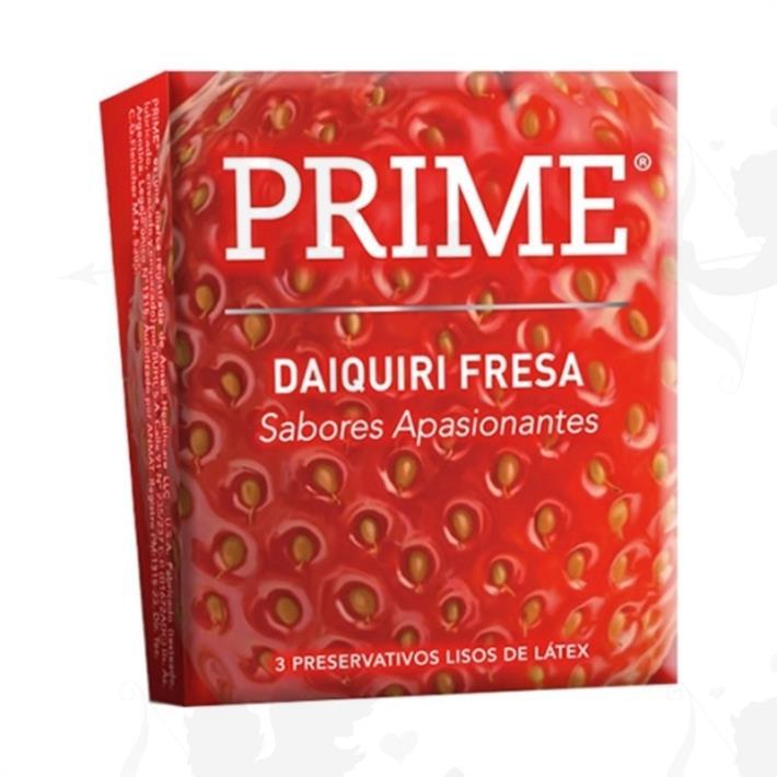Preservativo Prime Daiquiri Fresa