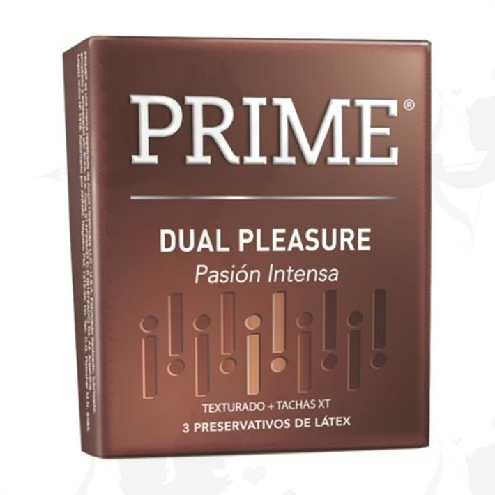 Preservativo Prime Dual Pleasure