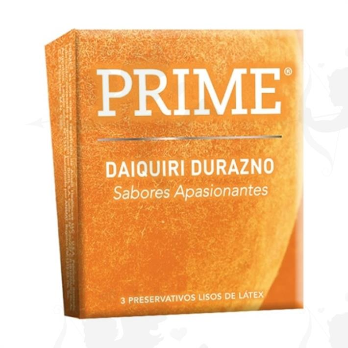 Preservativos Prime Durazno