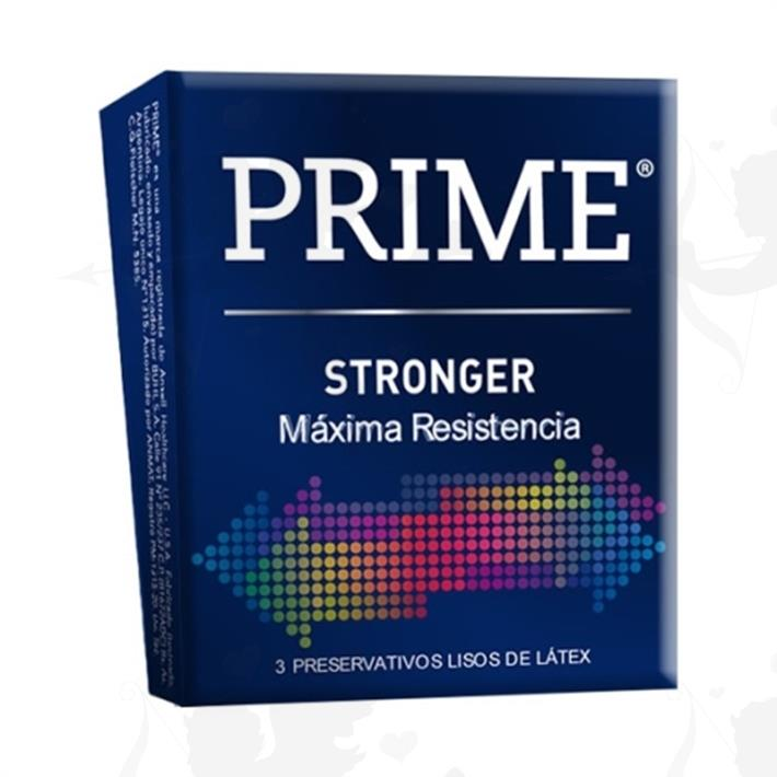 Preservativos Prime Stronger