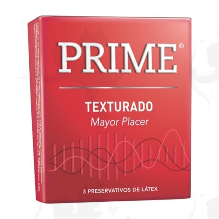 Preservativo Prime Texturado
