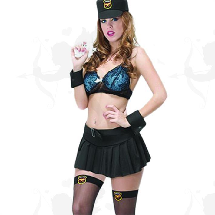 Chica policía
