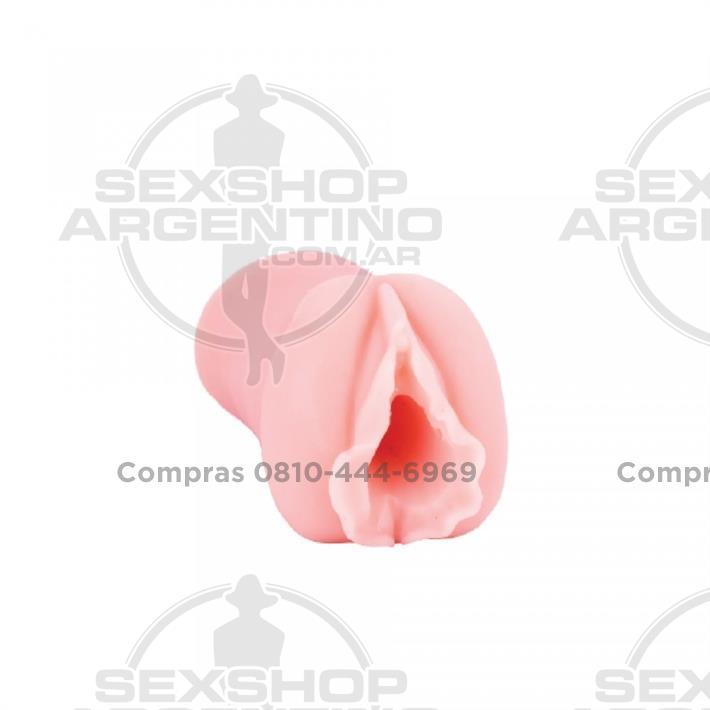 Estimuladores, Estimuladores masculinos - Masturbador con forma de vagina en silicona