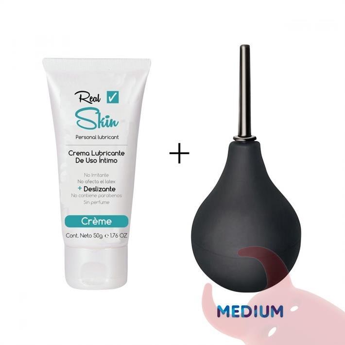 Limpiador anal medium 100ml con crema de regalo