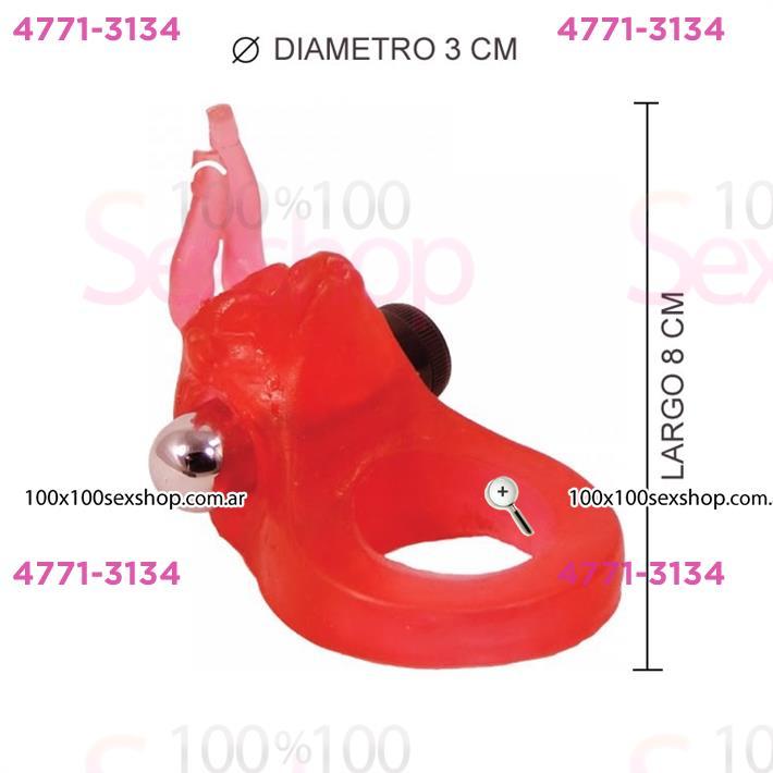 Cód: CA 1123-5 - Retardante de eyaculacion con estimulador femenino - $ 1780