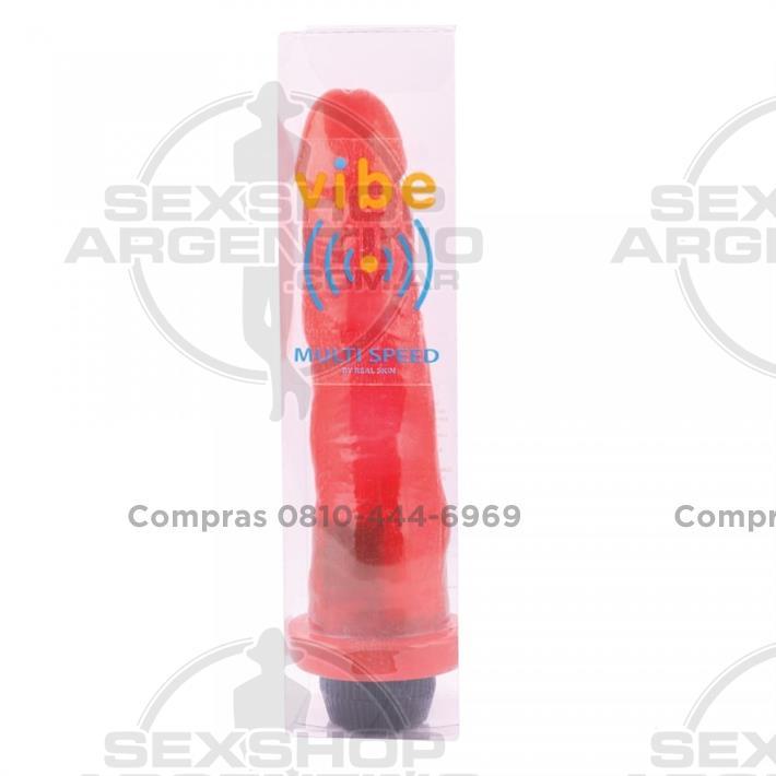 Vibradores, Vibradores jelly - Vibrador Super Super Jelly