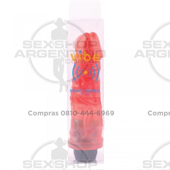 Vibradores, Vibradores jelly - Vibrador Americano Grande Jelly