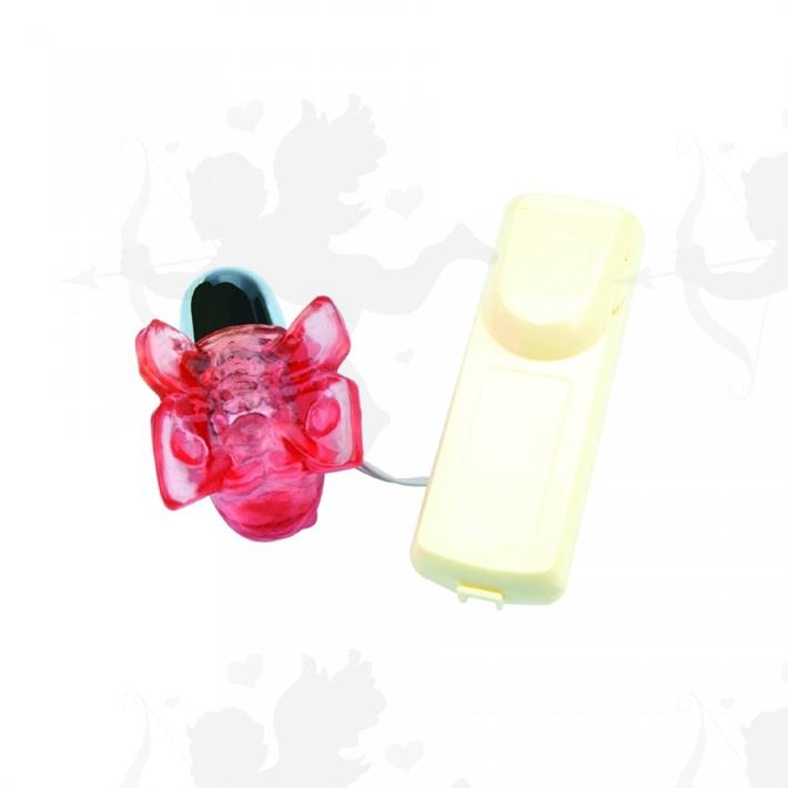 Cód: 2129-5 - Vibrador estimulador micro mariposa - $ 2250
