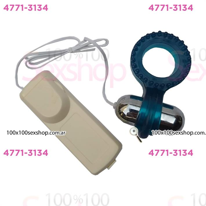 Cód: CA 2135-5 - Anillo para mantener la erección con vibrador - $ 1320