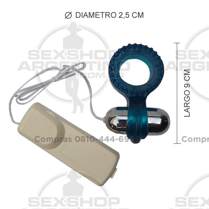 - Anillo con vibración y control remoto