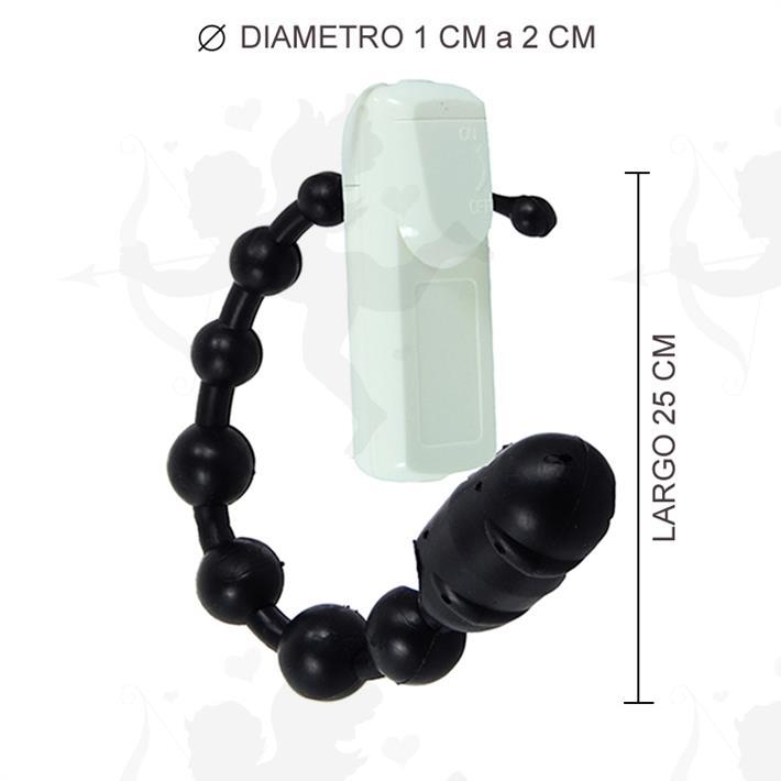 Cód: 2139-5 - Dilatador Anal Varita Anal Con Vibrador - $ 1490