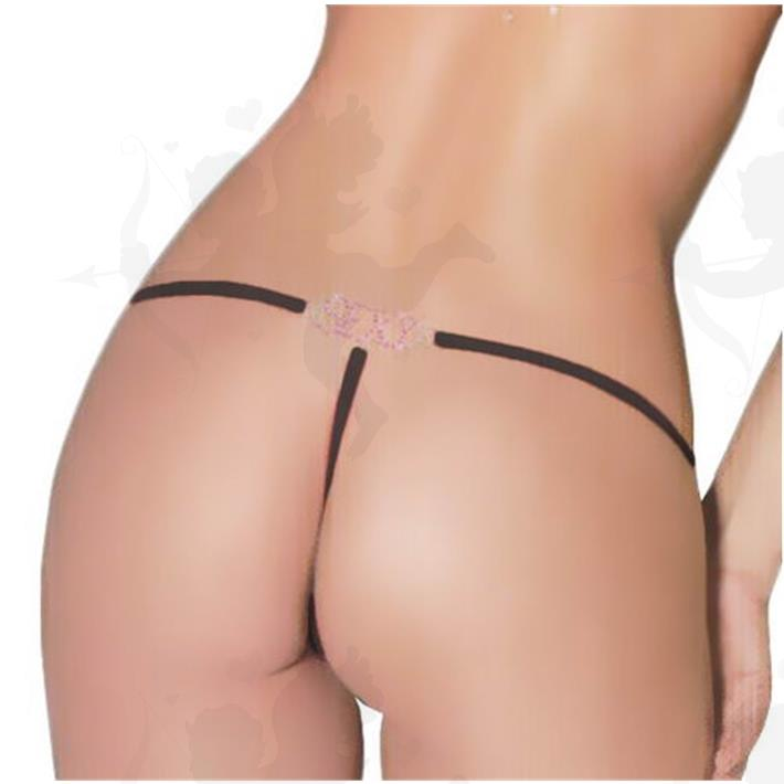 Cód: B086N - Tanga Premium Sexy - $ 1580