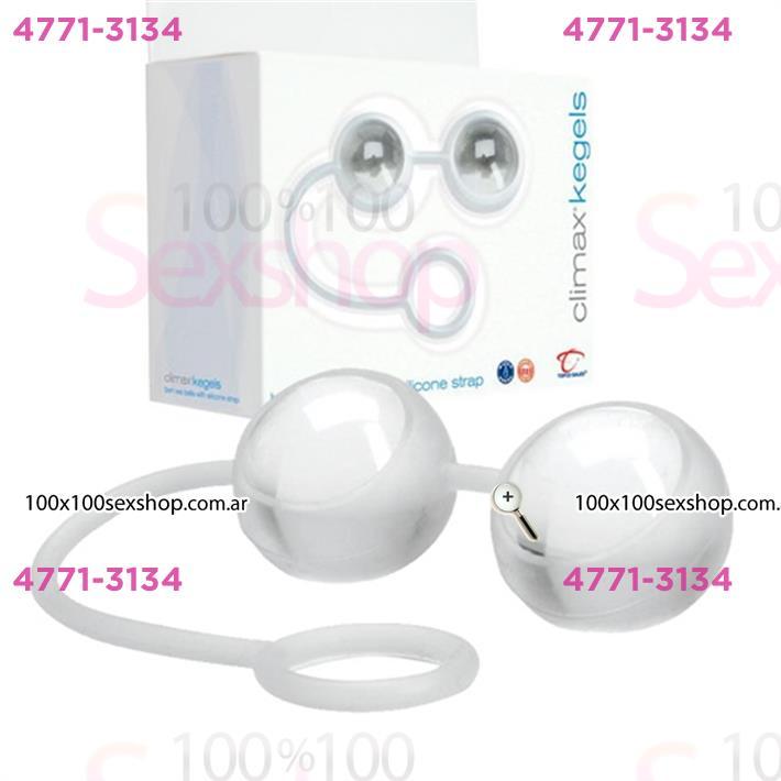 Bolitas de Kegels de vidrio con silicona