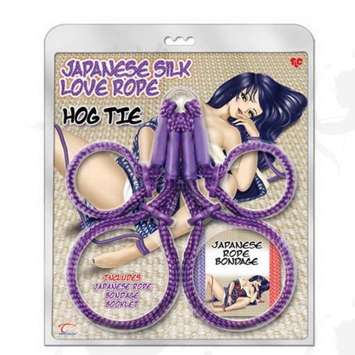Cód: BU1014409 - Ataduras Eroticas X4 - $ 2790