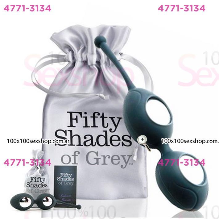 Cód: CA BUFS-40166 - Silicone Balls 50 Sombras De Grey - $ 3460