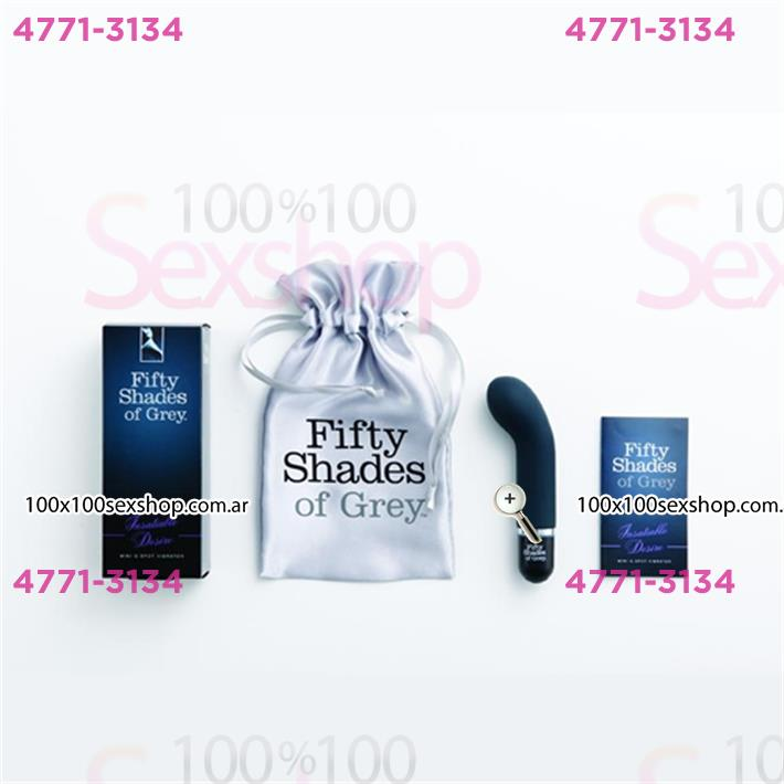 Cód: CA BUFS-40168 - Estimulador de punto G Fifty Shades of Grey - $ 3585