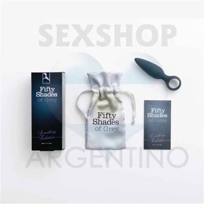 Plug anal con extrator de 50 Sombras de Grey