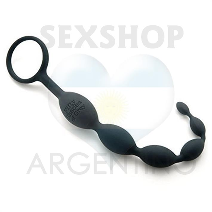 Vara anal - Anal beads 50 Sombras de Grey