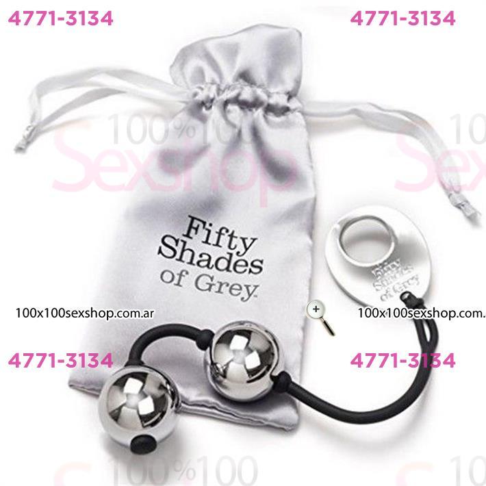 Cód: CA BUFS-40174 - Silver Balls 50 Sombras De Grey - $ 4200