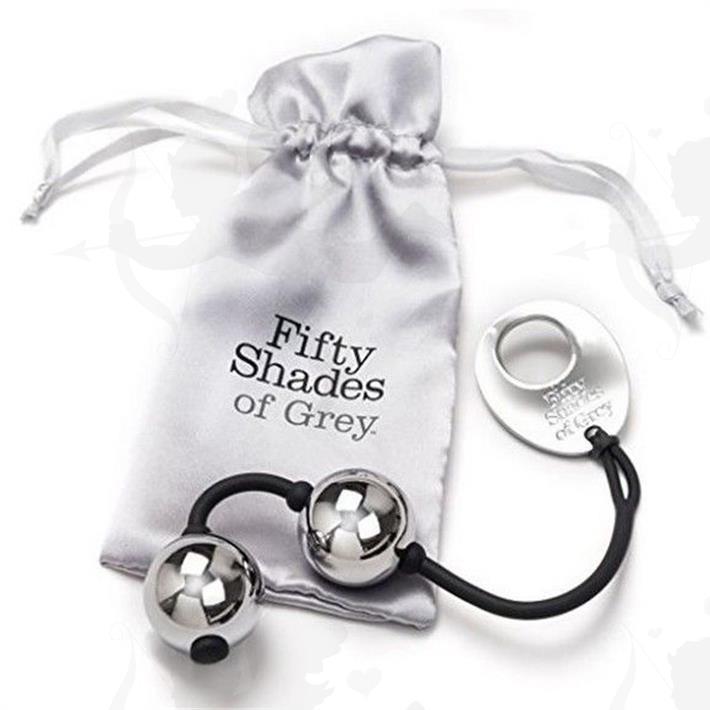 Cód: BUFS-40174 - Silver Balls 50 Sombras De Grey - $ 4200