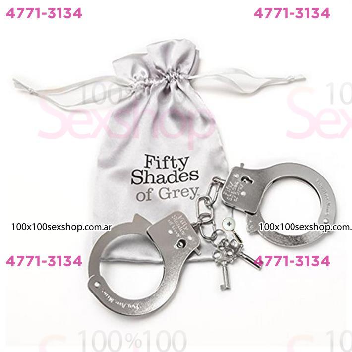 Cód: CA BUFS-40176 - Esposas De Metal 50 Sombras De Grey - $ 3660