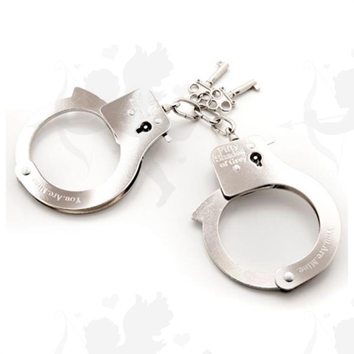 Cód: BUFS-40176 - Esposas De Metal 50 Sombras De Grey - $ 4030