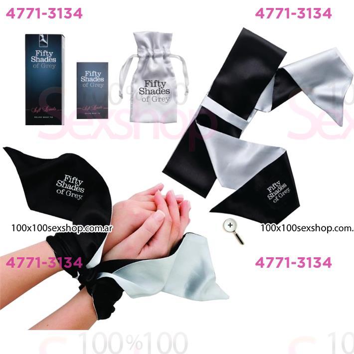Cód: CA BUFS-40179 - Cintas de Seda para amarre de 50 Sobras de Grey - $ 1800