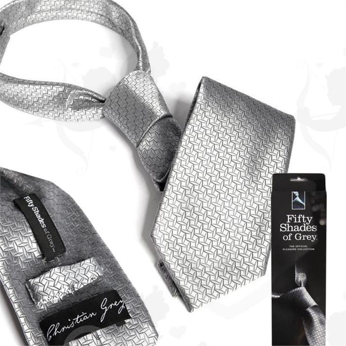 Cód: BUFS-40880 - Corbata de Christian Grey Oficial 50 Sombras De Grey - $ 550