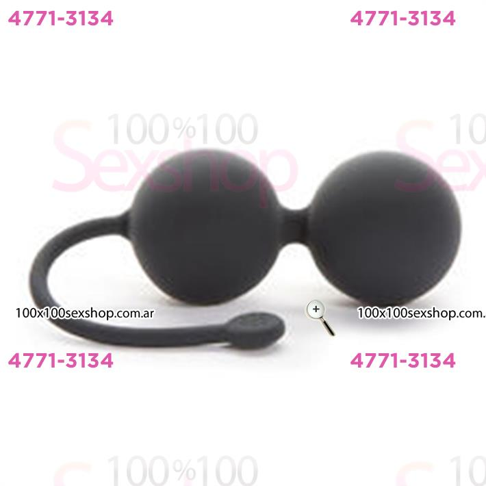 Cód: CA BUFS-59959 - Fifty Shades of Grey Silicone Jinggle Balls - $ 4190