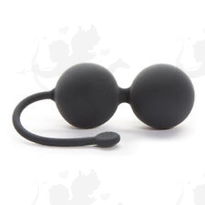 Cód: BUFS-59959 - Fifty Shades of Grey Silicone Jinggle Balls - $ 3800