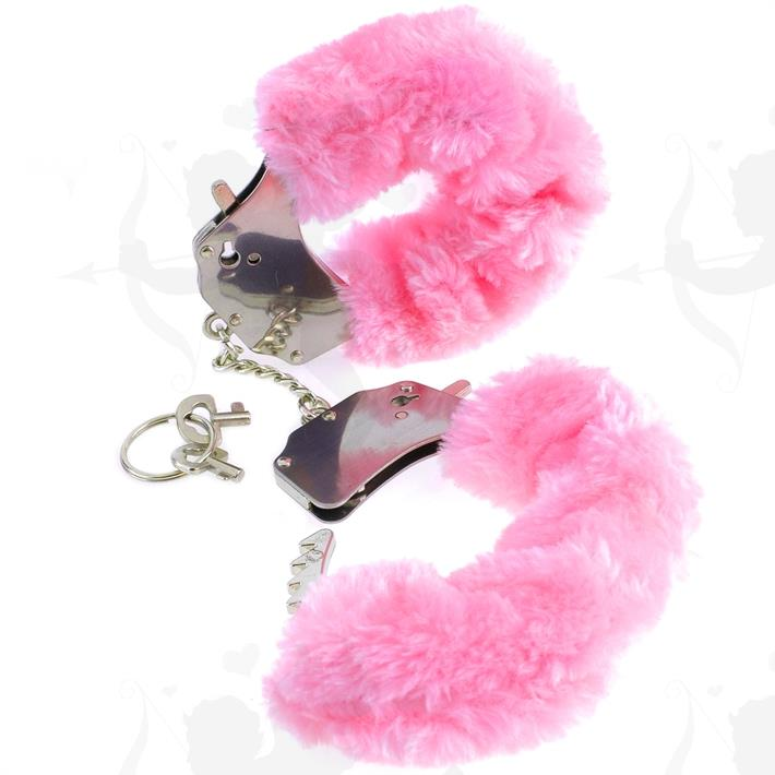 Cód: BUPD-3804-11 - Esposas Peluche rosa - $ 1680