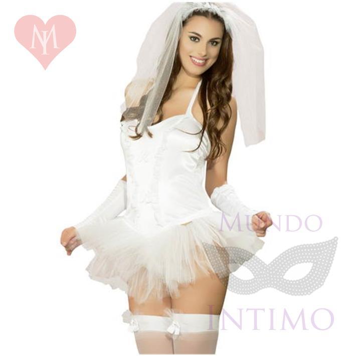 Disfraz Novia Premium Femenino