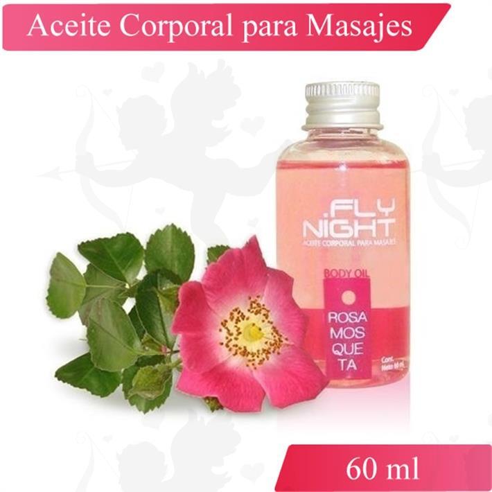 Aceite Para Masajes Rosa Mosqueta 60ml