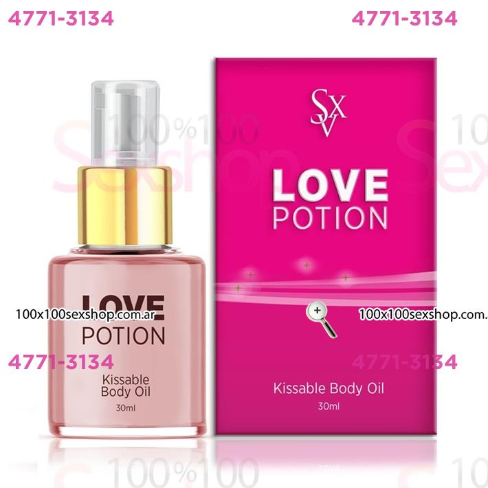 Cód: CA CR A01 - Aceite sabor Chocolate y Menta love potion 30 ml - $ 440
