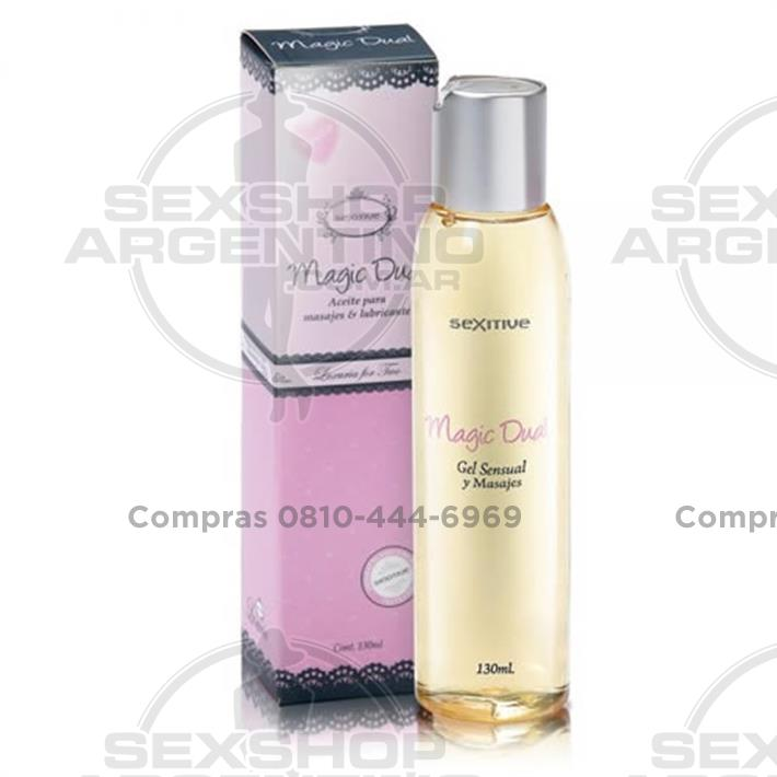 - Aceite Aroma - Champagne para masajes y lubricante 130 ml