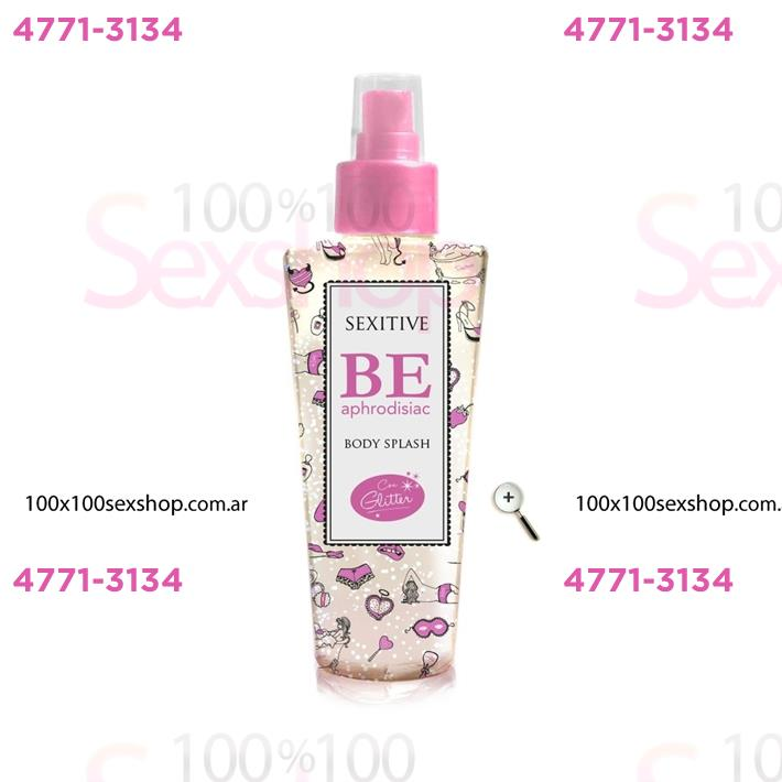 Cód: CA CR D04 - Body splash con feromonas y glitter de 130 ml - $ 520