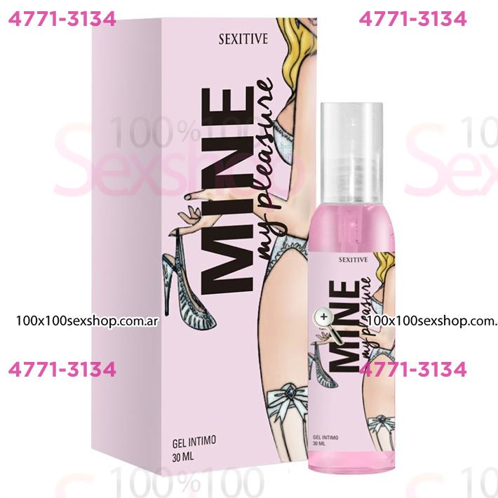 Cód: CA CR MMP - Gel intimo Mine Con L-Arginina 50ml - $ 560
