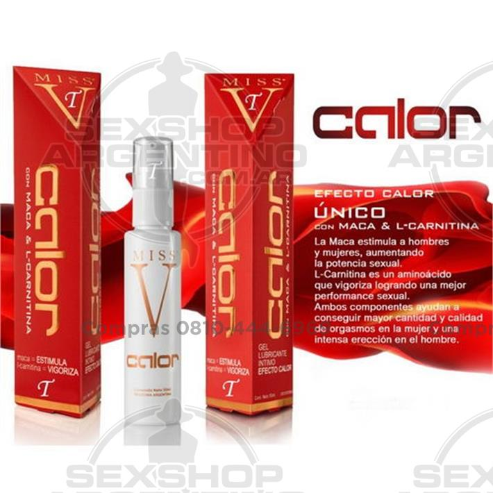 - Lubricante Gel Efecto Calor 50ml