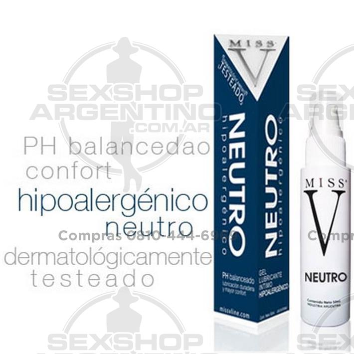 - Gel lubricante neutro hipoalergénico 50 ml