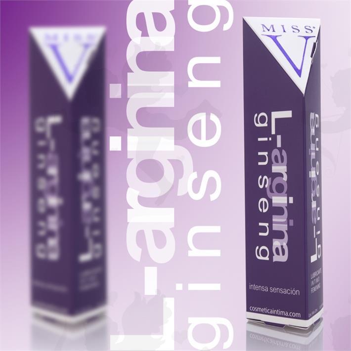 Gel lubricante con Facilitador de orgasmos femeninos L-Arginina Ginseng 50 ml