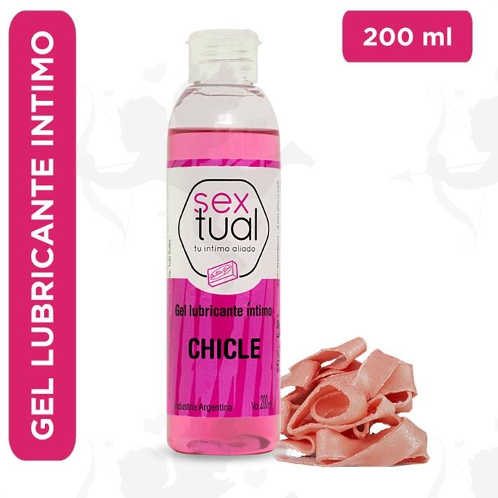 Gel estimulante con sabor a chicle 200ml