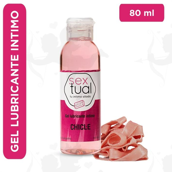 Cód: CR T CHICLE80 - Gel lubricante sabor chicle 80ml - $ 500