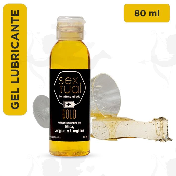 Gel estimulante con Jengibre y L-Arginina Gold 80ml