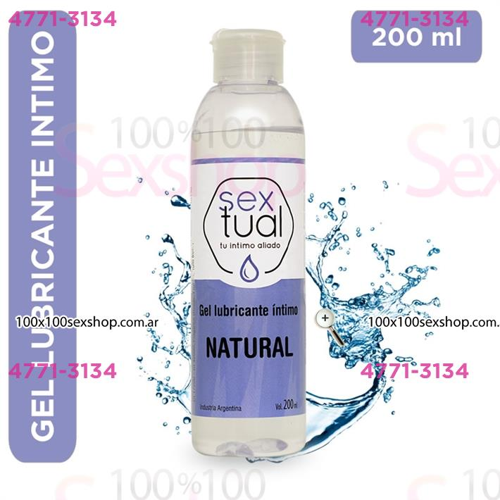 Cód: CA CR T NAT200 - Gel estimulante hipoalergenico 200ml - $ 800