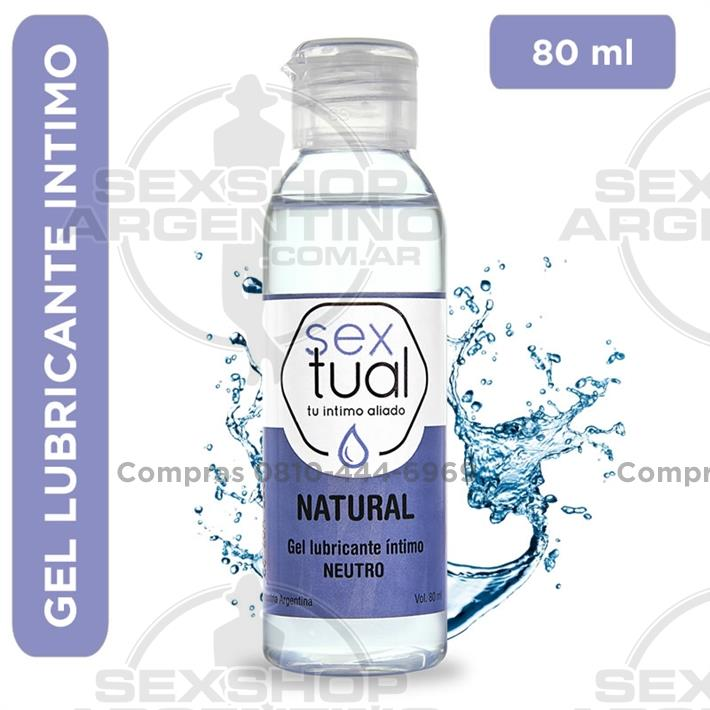 - Gel lubricante Natural neutro 80ml